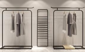 服装店货架展示架如何装修设计