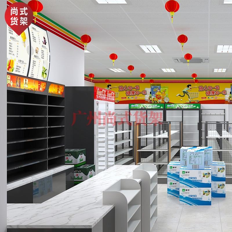 便利店货架-超市货架-1